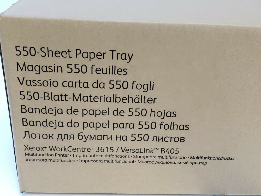 497K13630 Лоток (550 листов) XEROX WC 3615 VersaLink B405 - 1