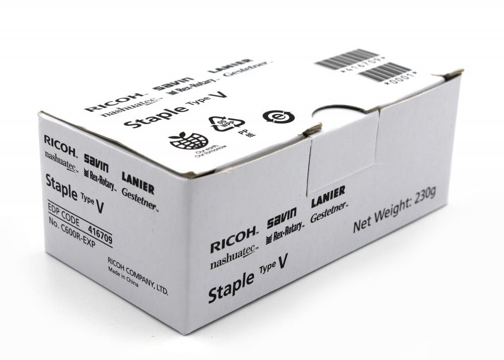 416709 Скобы (один картридж с 5000 скобами) Ricoh тип V - 1